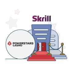 pokerstars casino and skrill logo