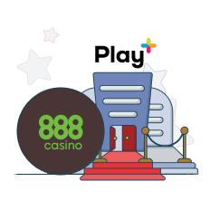 888casino and play+ logo