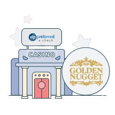 golden nugget and vip preferred logo