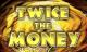 twice the money slot logo