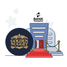 golden nugget and bank transfer logo