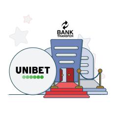 unibet casino and bank transfer logo