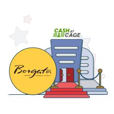 borgata cash at cage