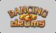 dancing drums slot logo