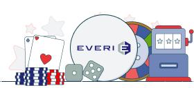 everi logo with casino games symbols