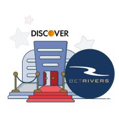 betrivers casino and discover logo